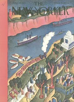 The New Yorker - Saturday, September 24, 1927 - Issue # 136 - Vol. 3 - N° 32 - Cover by : Helen E. Hokinson