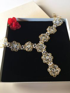 Ein persönlicher Favorit aus meinem Etsy-Shop https://www.etsy.com/de/listing/522046142/schmuckset-collier-armbander-und