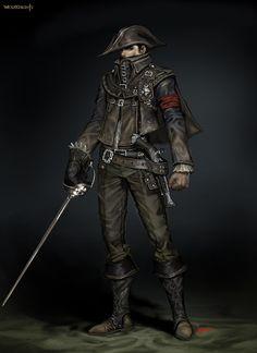 ArtStation - musketeer, sonacia - Youngmin suh
