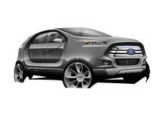 Render Digital Ford Ecosport 2022
