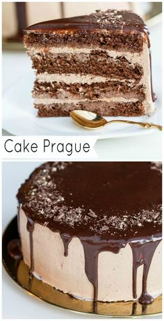I love this cake, not only because it's chocolate, but how moist and light it tastes.