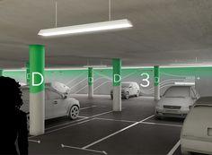 Parking Design, Signage Design, Ux Design, Interior Design, Environmental Graphic Design, Environmental Graphics, Park Signage, Medical Design, Design Research
