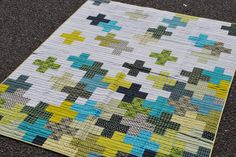 Another Plus quilt I like by City Stitches