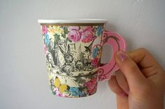 Alice in wonderland, paper cup set, multi deals ~ Vintage ~ Alice birthday ~ mad hatter tea party ~ quote ~ drink me ~ story book, full set