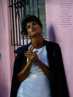 """Jazzy Jazz"" model: Linda Evangelista photographer: Steven Meisel hair: Oribe makeup: François Nars"