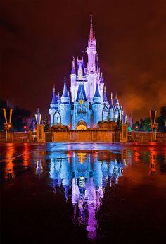 Walt Disney World - Kiss Goodnight Reflection