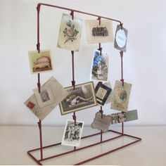 Craft Show or Studio Display, Red Chip Clip Stand, $58