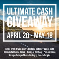 Do you want to win $500 in cash via PayPal?  Come enter this giveaway for a chance to win!