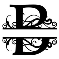 Monogram Letter Die Cut Vinyl Decal PV1320 for Windows, Vehicle Windows, Vehicle Body Surfaces or just about any surface that is smooth and clean