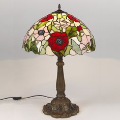 Warehouse Of Tiffany Pink Petal Flower Desk Lamp   Pretty Pink Flowers And  Anu2026 | I Love Lamp | Pinterest | Pink Petals, Desk Lamp And Green Ground