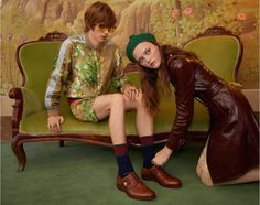Gucci Cruise 2016 campaign Photography: Glen Luchford Art director: Chris Simmonds Stylist: Jane How Hair: Paul Hanlon Makeup: Yadim Carranza Gucci Campaign, Campaign Fashion, Cruise Collection, Glen Luchford, Wes Anderson Style, Gucci Spring, La Mode Masculine, Alessandro Michele, Img Models