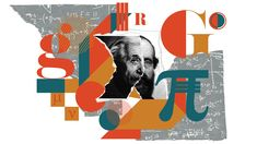 Collage of Einstein and Reimann's faces on ripped paper in a geometric field of color, pattern, and shape (teal, mustard, rust) Quantum Entanglement, Science For Kids, Mathematics, Einstein, Physics, Pattern, Random Pictures, Rust, Mustard