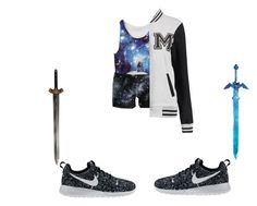"""Diam"" by crazycupcake-dccxv on Polyvore featuring NIKE"