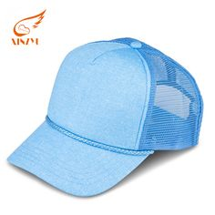 Wholesale custom 5 panel high quality curved brim blank mesh colorful  truker cap hats 98c92d245335