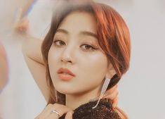 Park Ji Soo, Jihyo Twice, Minatozaki Sana, Nayeon, South Korean Girls, Hoop Earrings, Beauty, Japan, Kpop