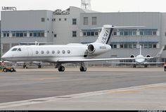 "Gulfstream Aerospace G-V-SP Gulfstream G550. N550GA (cn 5155) Aircraft used in TV series ""Criminal Minds"""