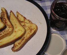 Pain perdu recette pour 6 tranches de pain de mie