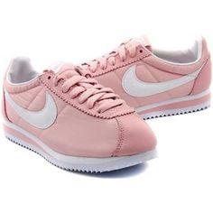 http://www.asneakers4u.com/ Women Nike Cortez Oxford Cloth Pink