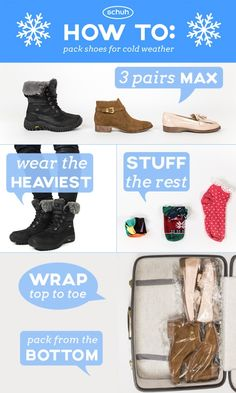 Away a holiday this winter? Here's a quick packing tip.