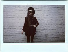 Get this look: http://lb.nu/look/5486768  More looks by Violet Ell: http://lb.nu/user/79093-Violet-E  Items in this look:  Thrift Store Shirt, Thrift Store Skirt, Thrift Store Leather Backpack, Thrift Store Hat, Velvet Blazer, Ray Ban Sunglasses