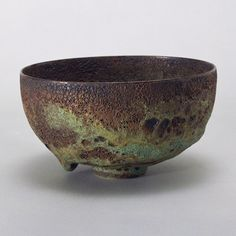 Gertrud & Otto Natzler • Bowl (no. L637) MOMA collection