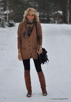 Relaxed Winter Style.