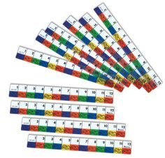 Standard measurement: Transparent Inchworms Rulers Learning Resources http://www.amazon.com/dp/B000F8R4X8/ref=cm_sw_r_pi_dp_SiOZtb1RZV7GN4NA