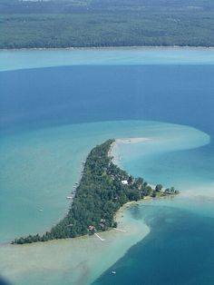 Treasure Island at Higgins Lake, Michigan
