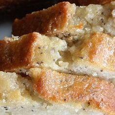 Pinner says: Almond poppyseed bread: My ALL TIME favorite recipe! This is my teacher gift, my office Christmas gift, my Christmas gift to everyone, my welcome to the neighborhood gift, my son's birthday cake, my fall/winter go to!!!