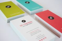colorful professional business cards