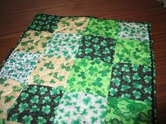 St Patrick's Patchwork Table Runner    29 X 19 by sewcalico65, $21.00