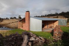 """The Shearer's Quarters"" by Australian architecture firm John Wardle Architects… Architecture Design, Australian Architecture, Architecture Awards, Shed Design, Design Blog, House Design, John Wardle, Bruny Island, Australia House"