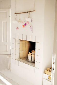cheminée minimaliste