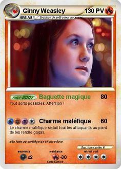 Pokemon Ginny Weasley
