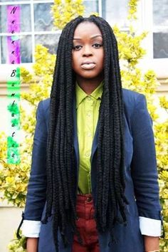 Box Braid with yarn