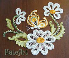 Postila Ru Crochet, Crochet Fruit, Crochet Birds, Crochet Leaves, Freeform Crochet, Thread Crochet, Crochet Flowers, Irish Crochet Patterns, Crochet Motifs