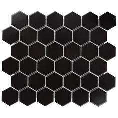 The popular Metro 2 in. Hex Series now comes in a sample size. Transform your home into a tribute to retro design with the Merola Tile Metro Hex 2 in. Matte Black Porcelain Mosaic Tile - 6 in.