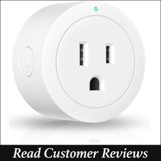 Amysen WiFi Power Outlet for Alexa and Google Home Best Wifi, Echo Devices, Google Home, Home Automation, Plugs, Amazon Echo, Lifestyle, Gauges