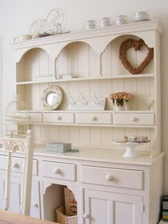 buy an antique buffet and build this top for dining room ?  or kitchen as beverage center ?