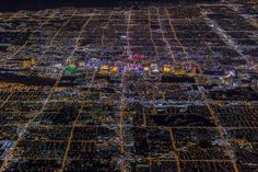 "Vincent Laforet's ""Sin City"" Shows Vegas from 10,800 Feet"