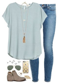 when you realize your bf has the same basketball number as Michael Jordan by kaley-ii on Polyvore featuring polyvore fashion style H&M Paige Denim Abercrombie & Fitch Lulu Frost Kate Spade Kendra Scott Sydney Evan Casetify Ray-Ban clothing