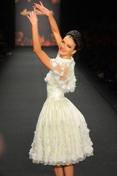 Fairy Tale Ballerina at Lena Hoschek #MBFWB