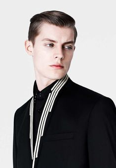 Janis Ancens - the Spring/Summer '13 pre-collection of Dior Homme lookbook captured by Bruno Staub and styled by Mauricio Naudi