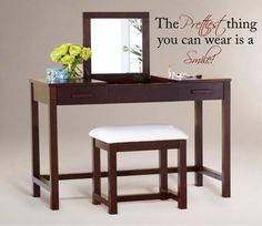 The Prettiest thing you can wearLarge by VinylDesignCreations, $20.00