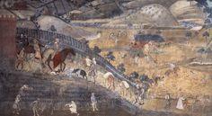 Affresco Buon Governo Ambrogio Lorenzetti
