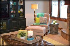 Family Room, Phillips, NE - contemporary - spaces - omaha - Fluff Your Stuff Interior Design Omaha
