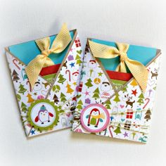 Christmas Gift Card holders - Scrapbook.com