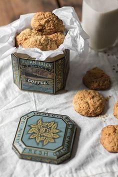 Biscuits aux céréales Special K de Marilou - au lieu du lait j'ai mis du lait de cajou Bon Dessert, Corn Flakes, Blended Coffee, Biscuit Cookies, Breakfast Muffins, Scones, Biscotti, Gluten, Sweets