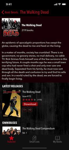 The Walking Dead #Entertainment#Books#apps#ios
