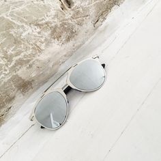 Ultimate Silver Sunnies by StyleRepertoire.com